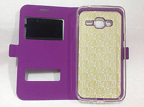 Чехол-книжка Samsung J320 Purple Momax