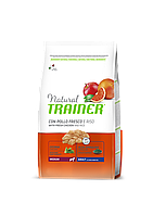 Сухой корм Trainer Natural Super Premium Adult Medium Con Pollo Fresco, Riso&Aloe Vera 12кг