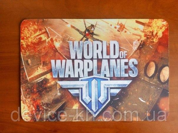 Игровой Коврик С Логотипом Word Of Warplanes ( Самолеты )