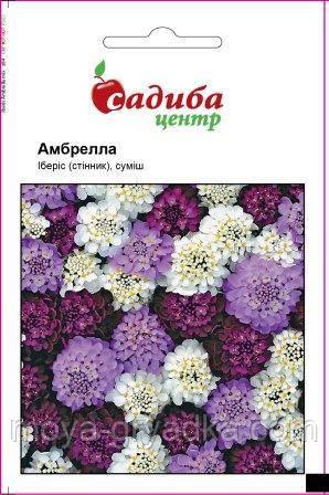 """Насіння квітів Iберiс Амбрелла 0,5г кв.ТМ""""Садиба Центр"""""""