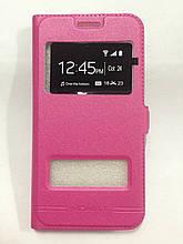 Чехол-книжка Samsung J320 Pink Momax