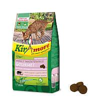 Корм GHEDA Kiramore Adult Maintenance Gourmet для кошек (Свинина с сыром), 15 кг