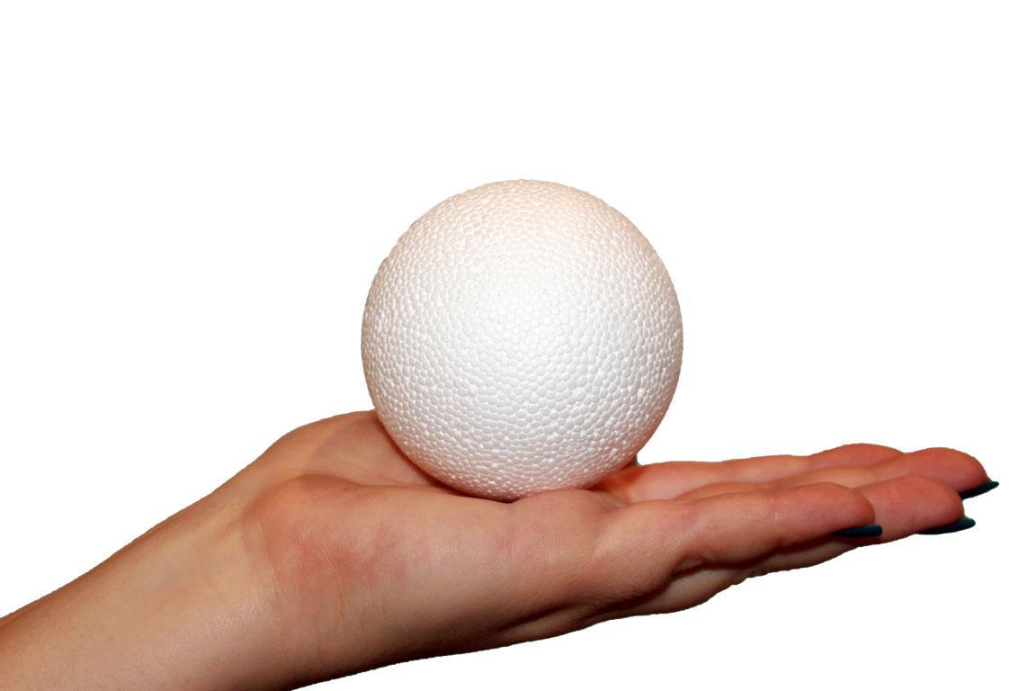Шар пенопластовый диаметр 7 см