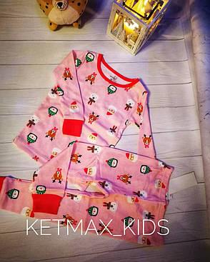 Новогодняя пижама Carter's для девочки, фото 2