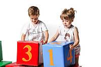 МЯГКИЙ ИГРОВОЙ КОНСТРУКТОР, игровые цифры (12 фигур),72 цифры, фото 1