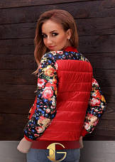 Короткая куртка «Цветы», фото 2