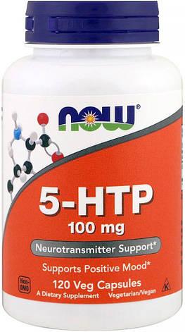 Для хорошего настроения 5 HTP Now США 100 mg 120 сaps, фото 2
