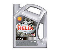Масло моторное Shell Helix HX8 Synthetic 5W-30 4L