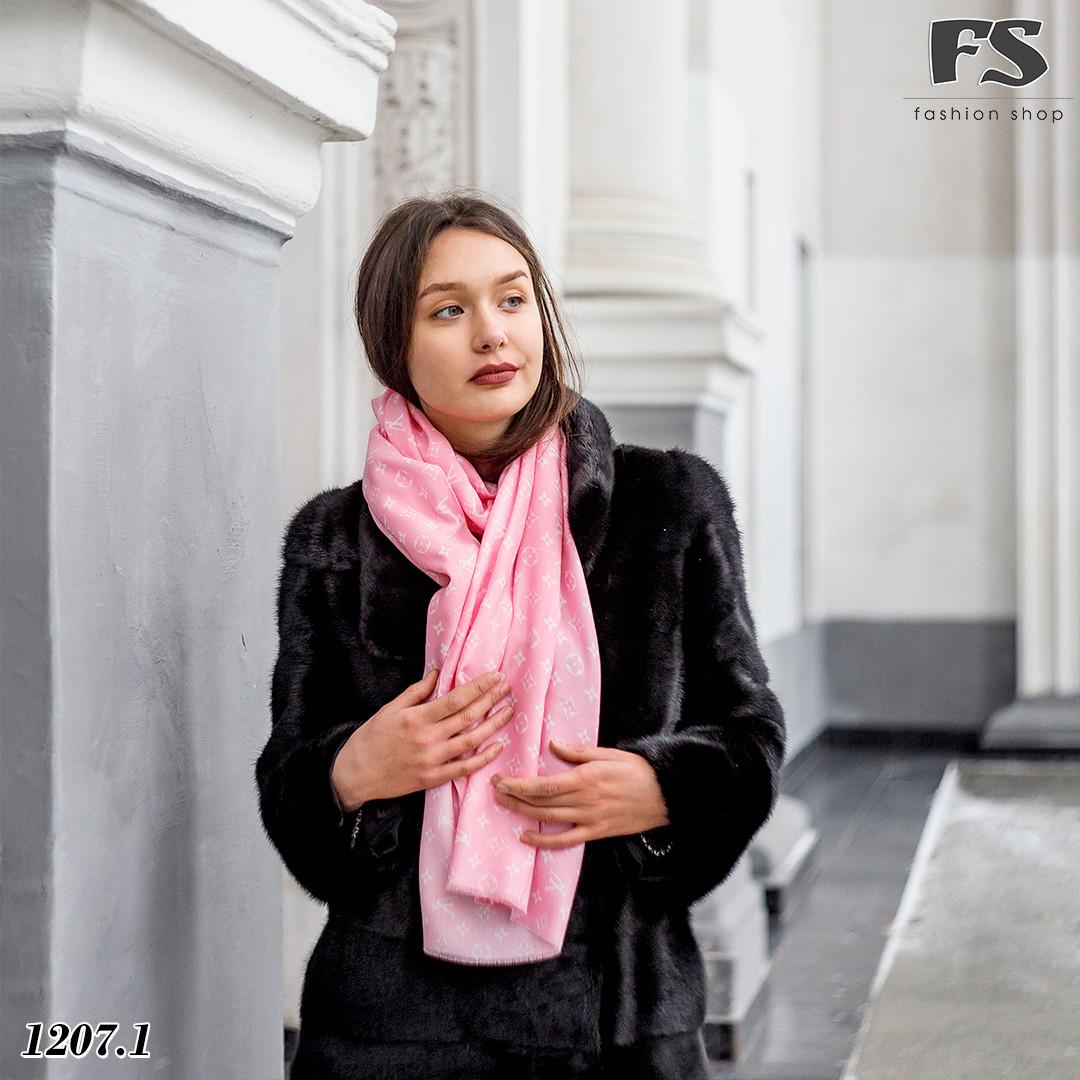 Стильный шерстяной шарф Louis Vuitton (реплика)