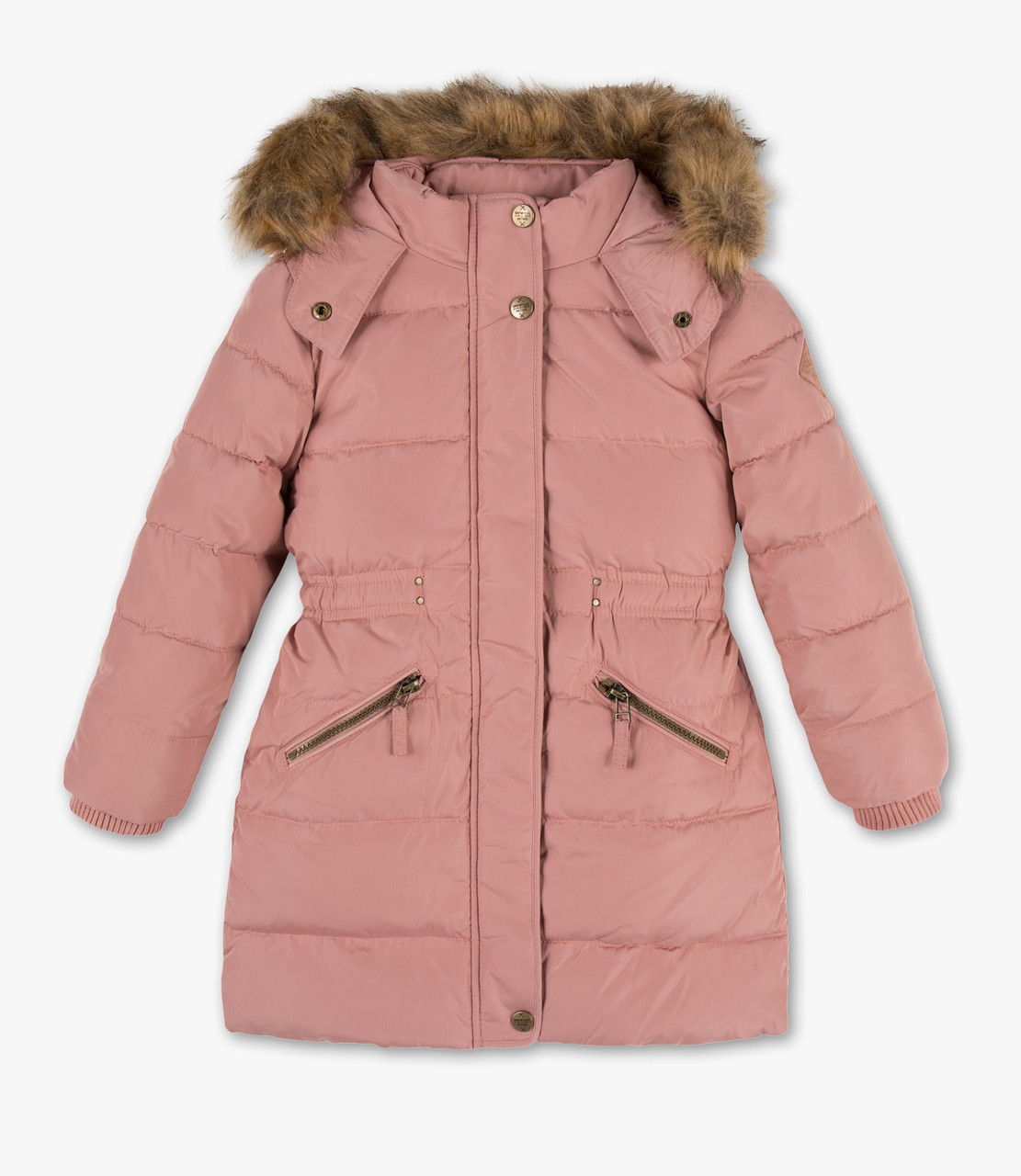 Детский зимний пуховик на девочку C&A Германия Размер 122