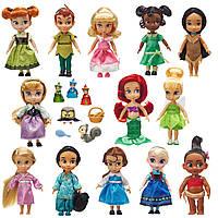 Принцессы малышки из коллекционного набора Disney Animators´ Collection Mini Doll
