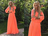 Платье шифон НТ654, фото 1