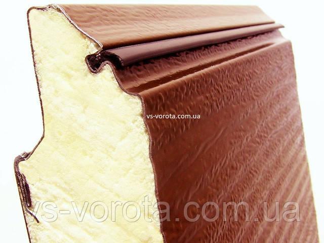 Сэндвич панель ворот Алютех Классик Винница