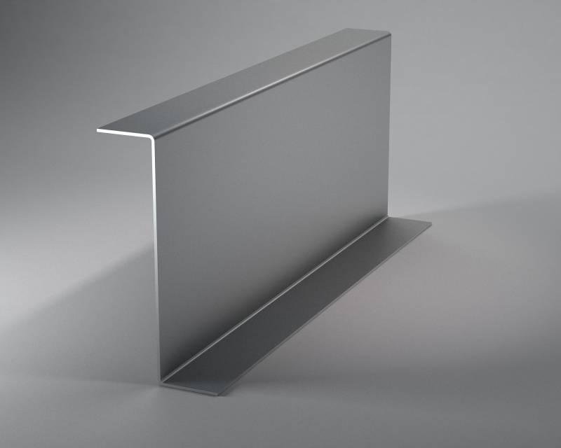 Гнутый Z- образный стальной профиль по чертежам заказчика