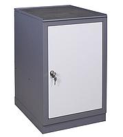 Тумба инструментальная Д (500х600хН835мм),  станочная тумба с дверью, фото 1