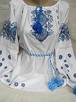 """Вышиванка """"Ульянка-3"""" (дом.полотно), 44-54 р-ры, 500\420 (цена за 1 шт. + 80 гр.)"""