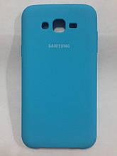 Чехол Samsung J7/Neo (J700/710) Silicon Cover Original Blue