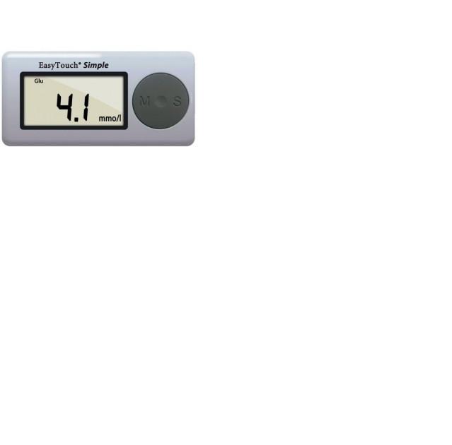 Аппарат EasyTouch для измерения уровня глюкозы в крови (без кодировки)