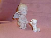 """JP-05/10 Фарфоровая статуэтка - фигурка """"Ангел"""" итальянской компании Pavone 10 сантиметров высота"""