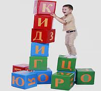 МЯГКИЙ ИГРОВОЙ КОНСТРУКТОР, игровые буквы (12 фигур),72 буквы