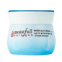 Крем-гель для лица с коллагеном Etude House Moistfull Collagen Water Jelly Cream