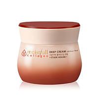 Увлажняющий крем для лица с коллагеном Etude House Moistfull Collagen Cream