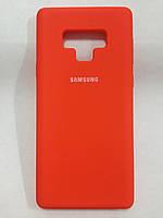 Чехол Samsung Note 9 Silicon Cover Original Orange