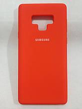 Чохол Samsung Note 9 Silicon Cover Original Orange