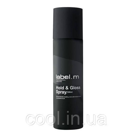 Спрей для волосся Фіксація та Блиск 200 мл label. m