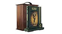Книга кожаная Футбол. Самая полная энциклопедия (на подставке)