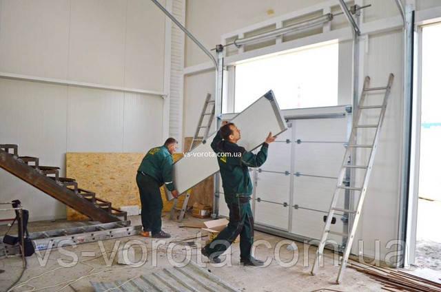 Производство ворот - автоматические промышленные и гаражные системы в городе Киев