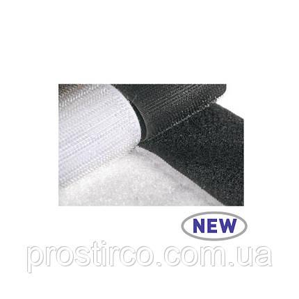 Липучка привариваемая 73.00.30 (белая/черная), фото 2
