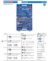 """Набор инструментов универсальный 103 ед. 1/4""""+1/2"""" KING TONY 7503MR (Тайвань)"""