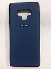 Чохол Samsung Note 9 Silicon Cover Original Dark Blue