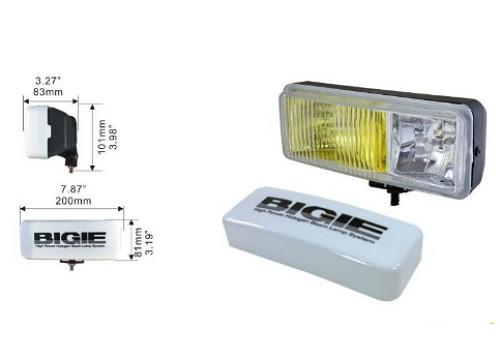 Фары дополнительные DLAA 8024 DRY/BIGIE/2хH3-12V/200*81mm/крышка компл.(8044)