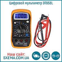 Мультиметр DT-858L с термопарой и прозвонкой