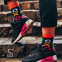 Длинные носки Soberay Cross Zero черные , фото 1