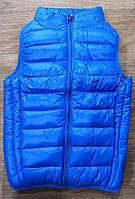 Голубая жилетка для мальчика демисезон Glo-Story
