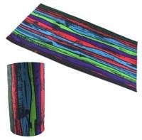 Бафф Buff бандана-трансформер, шарф из микрофибры, цветной забор