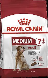 Сухий корм Royal Canin Medium Adult 7+ для собак середніх порід, 15КГ