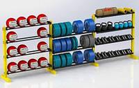 Стелаж для зберігання спортінвентарю DS-4015, фото 1