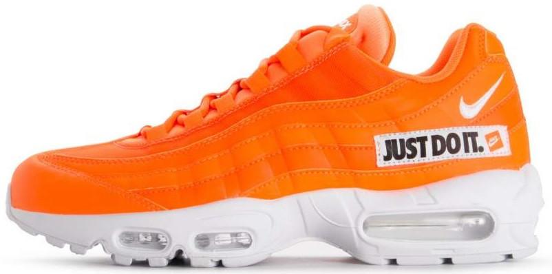 76fa8f46 Мужские кроссовки Nike Air Max 95 SE Just Do It Total Orange/White-Black  (Найк Аир Макс 95) оранжевые, цена 1 448 грн., купить в Киеве — Prom.ua ...