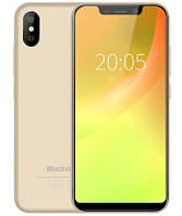 "Смартфон Blackview A30 2/16GB Gold, 8+8/5Мп, 5.5"" IPS, 2SIM, 4 ядра, GPS, 3G, 2500мАч"