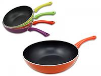 Сковорода с тефлоновым покрытием Wok 28 см Toscana 80099