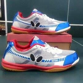 Теннисные кроссовки Butterfly UTOP-6 сине-красные