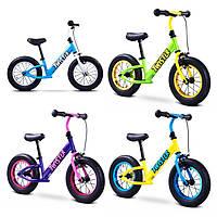 Детский беговел Caretero Twister [4 цвета] (Велобег Каретеро Твистер, велосипеды без педалей)