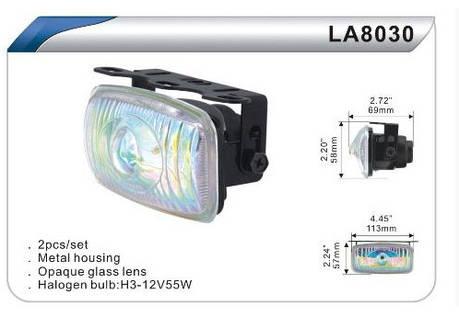 Фары дополнительные DLAA 8030 BL/H3-12V-55W/113*57mm комплект(8046), фото 2