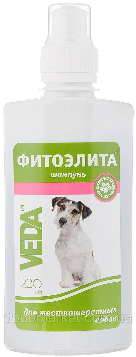 Фитоэлита шампунь для жесткошертных собак 220 мл