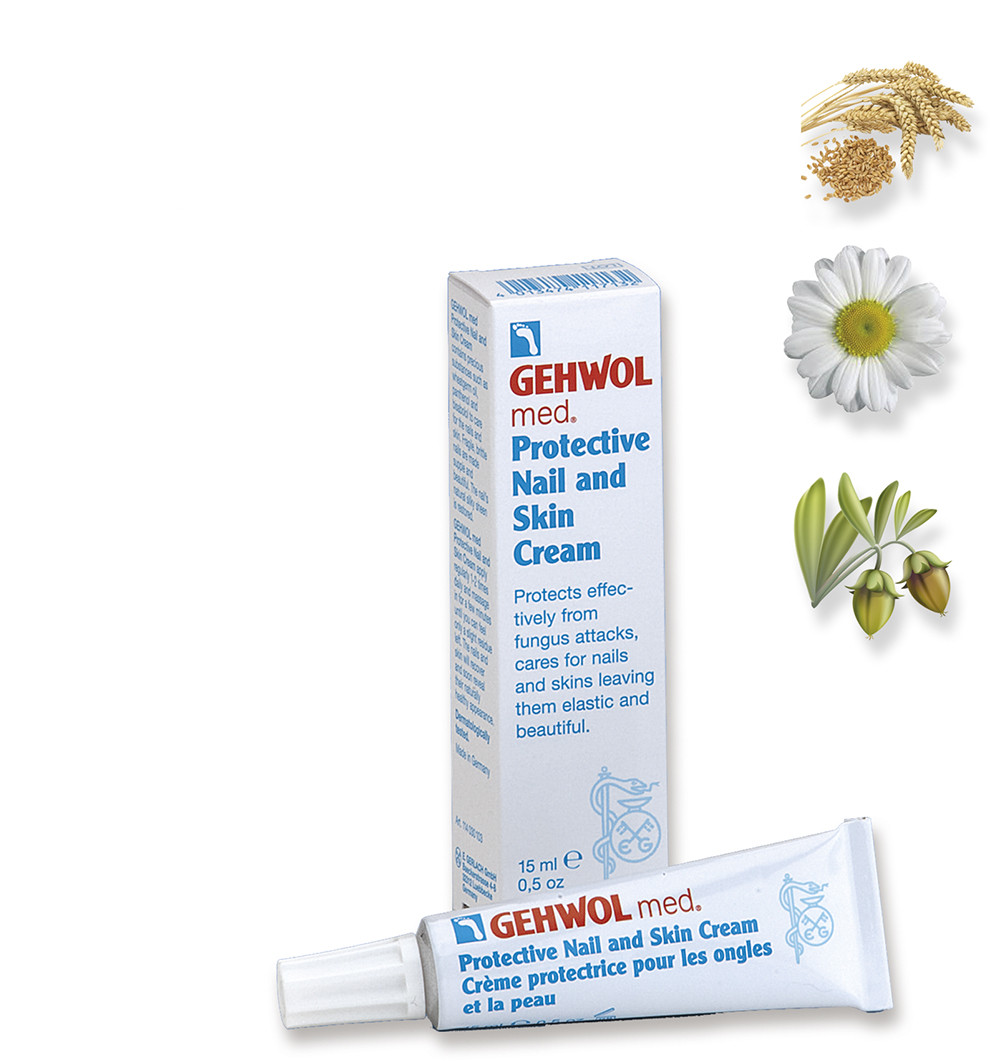 Защитный крем для ногтей и кожи 15 мл. GEHWOL
