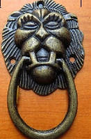 Ручка меблева голова лева 65х40 мм